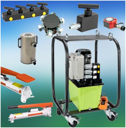 Гидравлическое оборудование, инструмент и компоненты